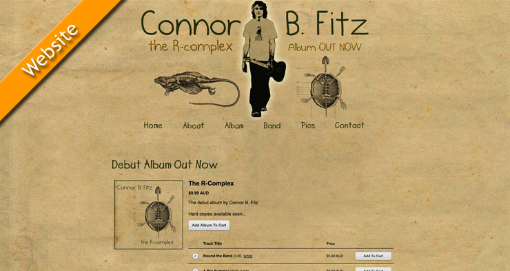Connor B. Fitz Website