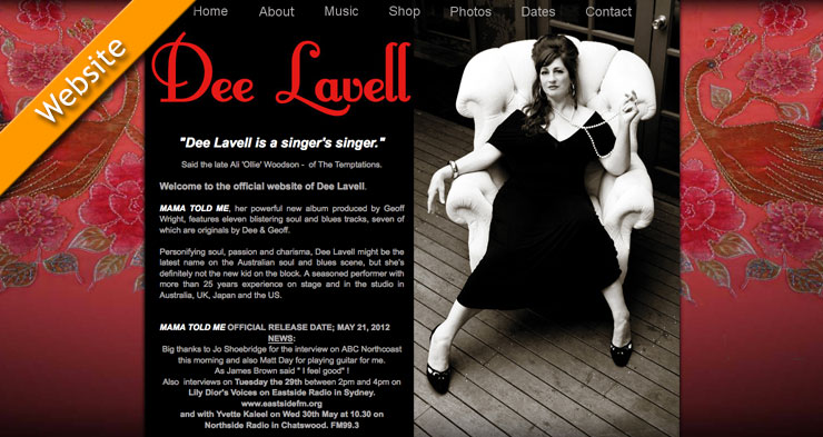 Dee Lavell Website