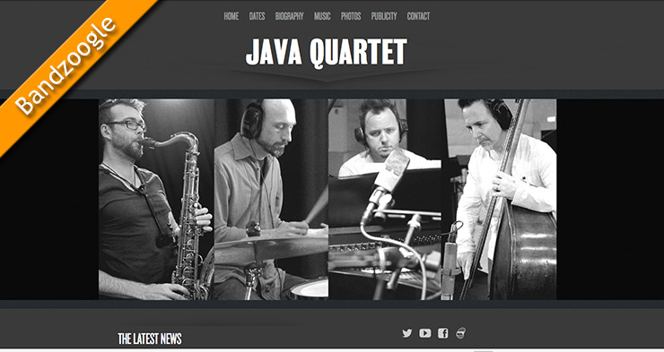 The Java Quartet Website