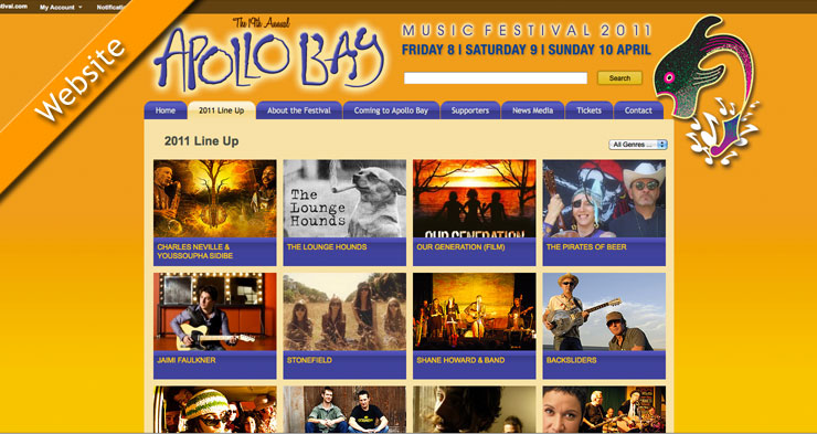 Apollo Bay Music Festival Website