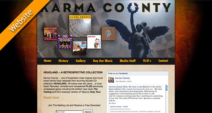 Karma County Website